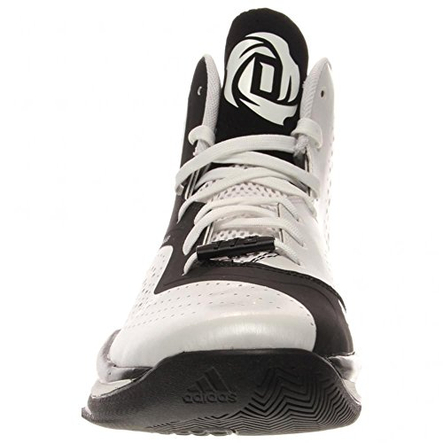 adidas D Rose 773 III hombres Basketball zapatos 11 blanco-negro White-Black