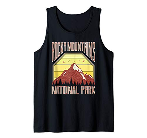 Rocky Mountain National Park Tank Top