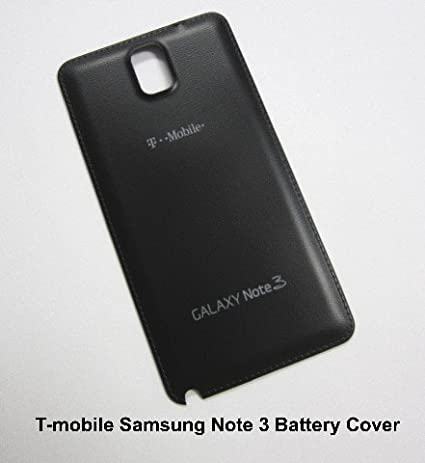 samsung phone back. for samsung galaxy note 3 n900t t-mobile back battery door cover - black phone o