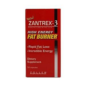 Zantrex-3 High Energy Extreme Fat Burner Capsules, 112 Count (ZAN-hu