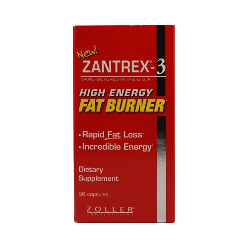 Zantrex-3 haute énergie extrême Fat Burner Capsules, Count 112 (ZAN-eyu4