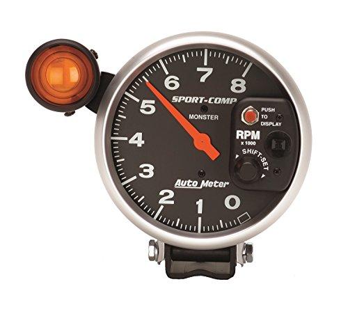 Auto Meter 3905 Sport-Comp Shift-Lite Tachometer by Auto Meter (Image #1)