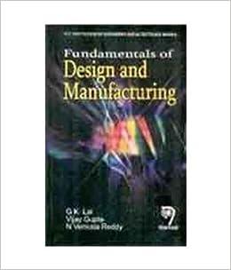 Fundamental Design And Manufacturing Ebook