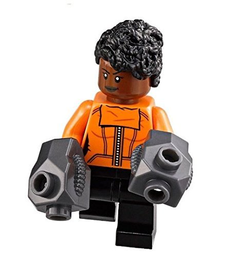 LEGO Marvel: The Black Panther - Shuri Minifigure w/ gauntlets (2018)
