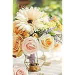 Lings-moment-Artificial-Gerbera-Daisy-Flowers-Pack-of-24-Cream-Daisies-Flower-for-DIY-Wedding-Bouquets-Centerpieces-Arrangements-Home-Decor