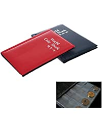Investment 120 Slots Coin Collecting Album Book Penny Pockets Holders Collection Storage online