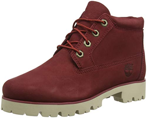 pomegranate Bottes Rouge Heritage Timberland Nubuck Femme Classiques Lite M49 Monochromatic OwHfOxpY