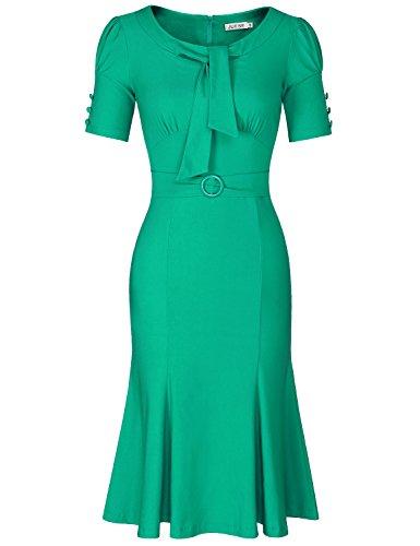 Vintage 50s 60s Green - 7