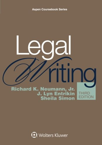 Cheapest copy of Legal Writing Connected Casebook