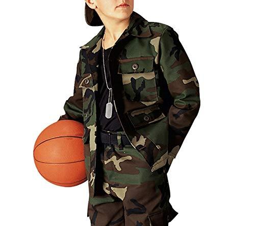 - Kids' Propper Woodland Nylon / Cotton Ripstop BDU Coats - F5720123204
