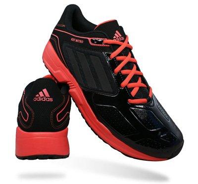 Adidas EQT Nitro Mens Running Trainers / Shoes - Black - SIZE EU 44.5