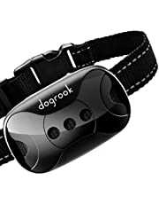 DogRook Rechargeable Dog Bark Collar - Humane, No Shock Barking Collar - w/2 Vibration & Beep Modes Training - Small, Medium, Large Dogs Breeds - Automatic Action Without Remote - Adjustable