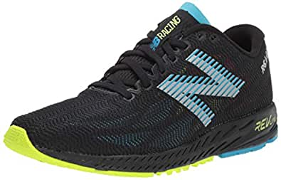 New Balance Men's 1400v6 Running Shoe, Black/Polaris, 8 2E US