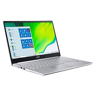 "Acer Swift 3 Thin & Light Laptop, 14"" Full HD IPS, AMD Ryzen 5 4500U Hexa-Core Processor with Radeon Graphics, 8GB LPDDR4, 256GB NVMe SSD, WiFi 6, Backlit Keyboard, Fingerprint Reader, SF314-42-R7LH"
