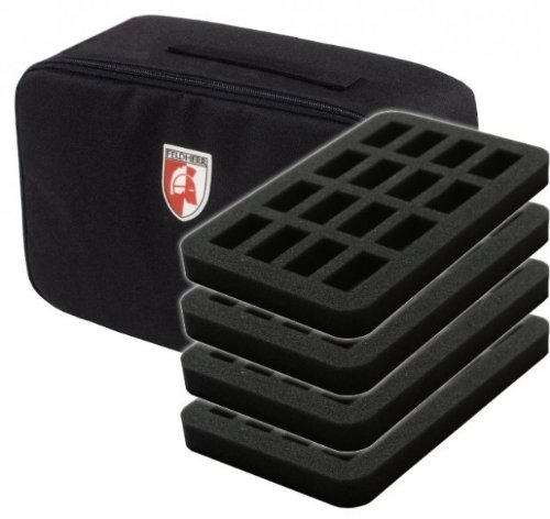 Small Figure Carrying Case - Feldherr Mini Plus 64 Miniatures Figure Case