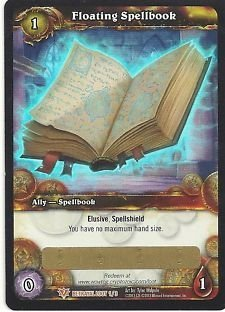 Floating Spellbook Loot Card World Of Warcraft WoW NEW! by World of Warcraft