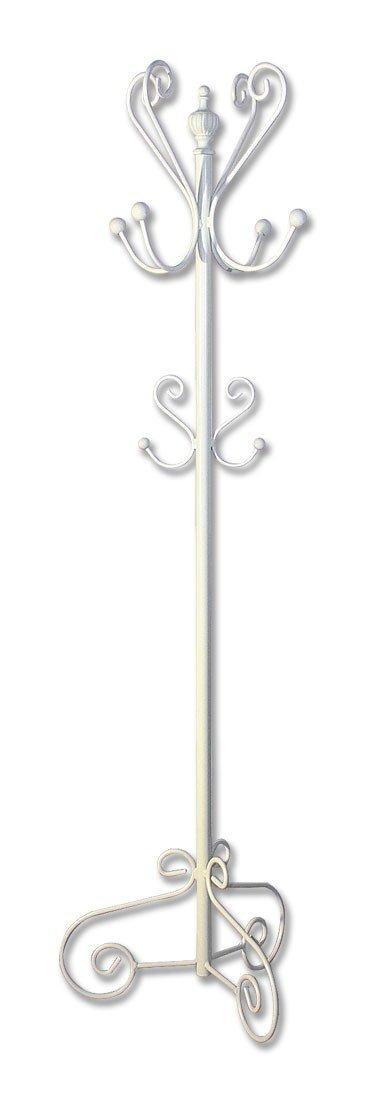 FACTORY MUEBLES - Perchero de forja nacional fijo modelo Vilches /400G. Altura 180 cm.. Color Amarillo.