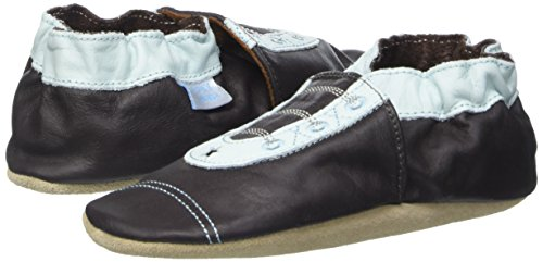 Jack & Lily Originals Boy Sneaker - Zapatillas de piel super divertidas y coloreadas, talla 3-4 años, multicolor