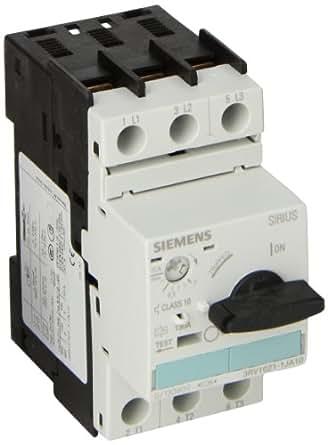 Siemens 3rv1021 1ja10 manual starter and enclosure open for Siemens manual motor starter