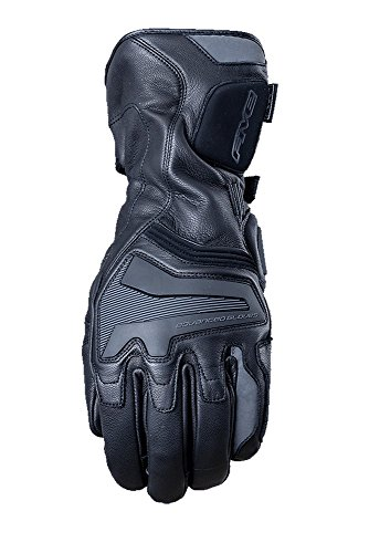 Five Black 2018 Wfx State Motorcycle Leather Gloves (Xl, Black)