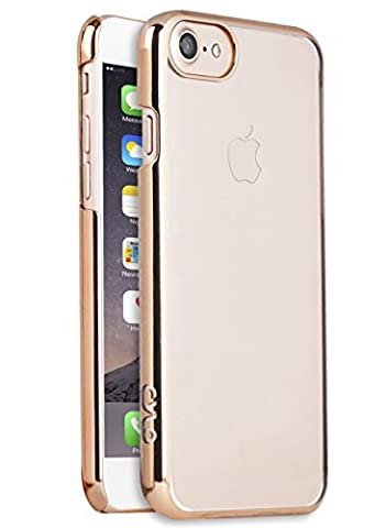 CYLO Tracer Sheer iPhone 7 Case, Ultra-Thin and Lightweight with Enhanced Sleek Design (Rose Gold) (Fire Phone Screen Protector Moshi)