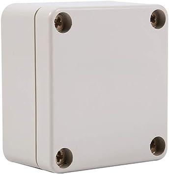 Caja de conexiones - Caja de conexiones a prueba de agua Conexión Caja eléctrica al aire libre a prueba de agua (pequeña): Amazon.es: Bricolaje y herramientas