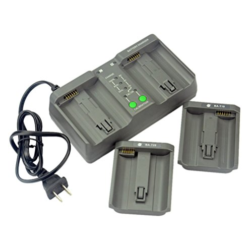 DSTE MH26A 3-in-one Power Battery Charger for Nikon EN-EL18 EN-EL4 Canon LP-E4 Battery as MH-26