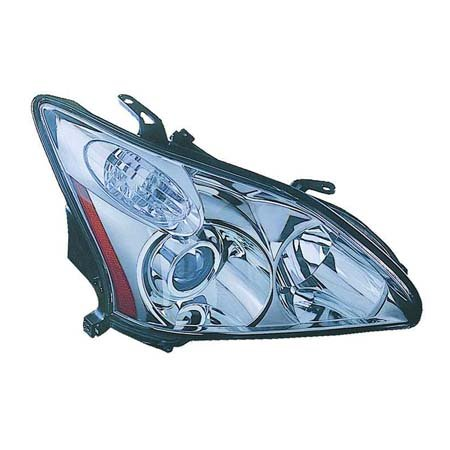- Fits Lexas RX330 2004-06/RX350 2007-09/RX400h 2006-2008 Headlight Assembly Unit Type JAPAN Built Passenger Side (NSF Certified)