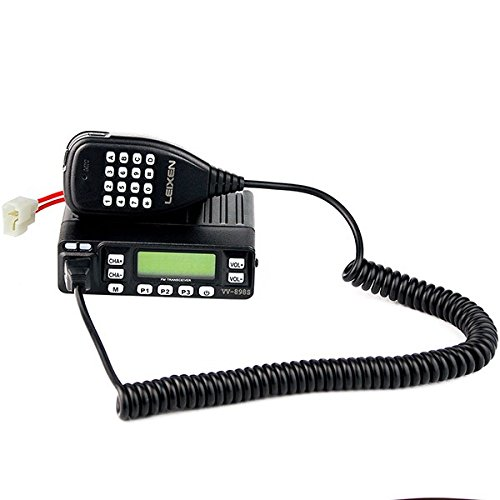 Leixen Vv 898S Mobile Radio Dual Band Two Way Radio Uhf Vhf 5W 10W 25W 199Ch Ctcss Dcs Fm Dtmf Scan Vox 1750Hz Scrambler Mobile Taxi Car Radio Amateur Ham Radio