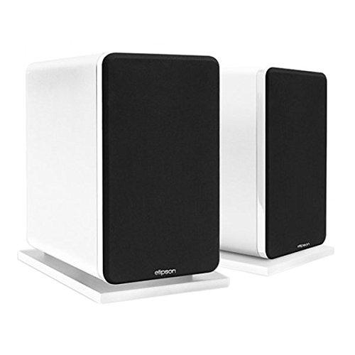 Elipson Prestige Facet 8B Blanco–Altavoz Biblioteca Audiophile (por par) (categoría: Altavoces)
