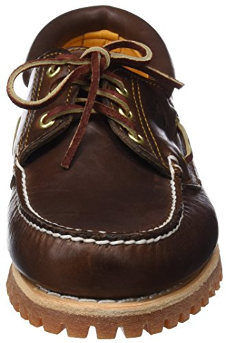 Chaussures basses Brown Lug Trad 3 Up Hs Marron Eye homme Pull Timberland axXwqYnzBw