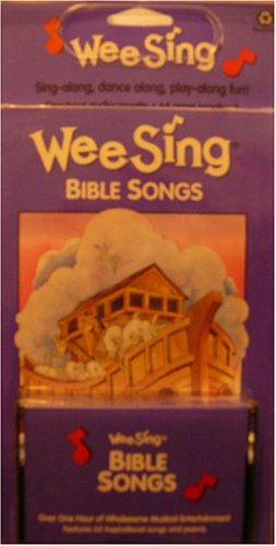 Wee Sing Bible Songs - A Celebration of the Bible in Music and Song - Sing-along, Dance Along, Play Along Fun! - One Hour Audiocassette and 64 Page Booklet