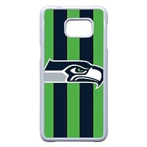 Samsung Galaxy S6 Edge Plus Cell Phone Case White Seattle Seahawks NFL CN9113491