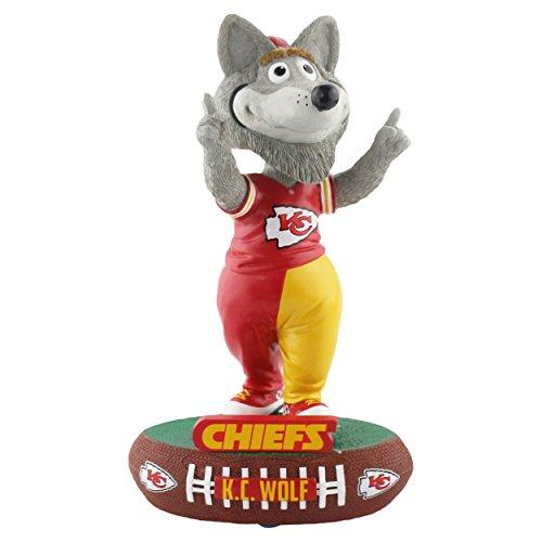 Forever Collectibles Kansas City Chiefs Mascot Kansas City Chiefs Baller Special Edition Bobblehead