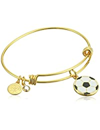Halos & Glories,Soccer Bangle Bracelet