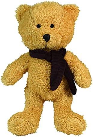 Scarlaroo Squeaky Dog Toys present our Dog Teddy Range of Soft Plush Bears. (Little Rusty)