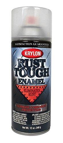 Krylon RTA9247 Krylon Rust Tough Rust Preventive Enamels Gloss Clear 12 oz. Aerosol Krylon Rust Tough Rust Preventive - Rust Aerosol Tough