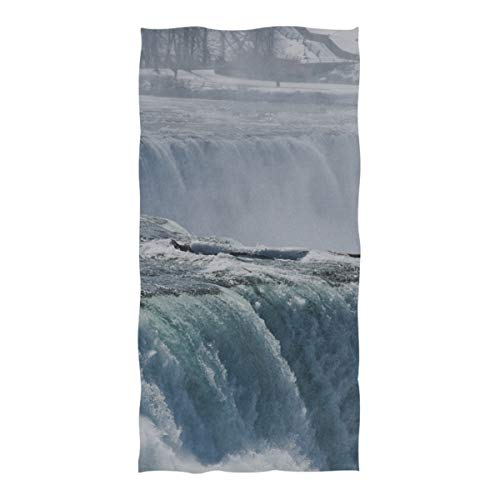 Microfiber Beach Towel Niagara Falls From The View Of The Maid Of The Mist Large Beach Blanket Towel Lightweight Towel For Travel Pool Swimming Bath Camping Yoga Gym Sports Women Adults Oversized 3