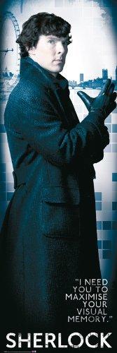 GB eye 53 x 158 cm Sherlock Solo Door Poster by GB Eye Limited