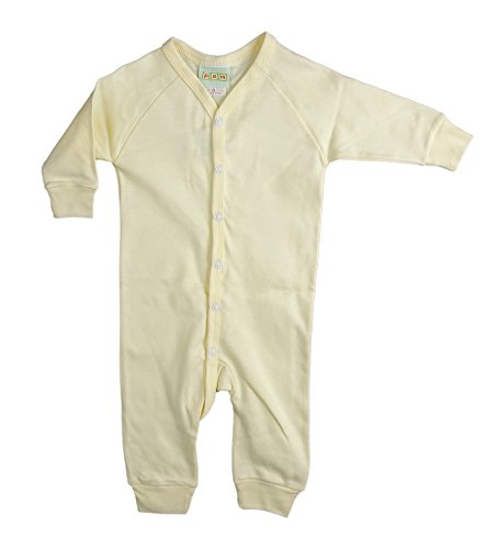 Pam GM Baby Blank Union Suit 100% Cotton