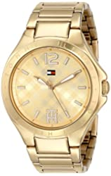 Tommy Hilfiger Women's 1781385 Gold-Tone Watch
