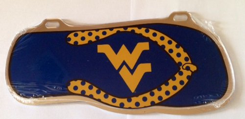West Virginia Flip Flop Car Tag