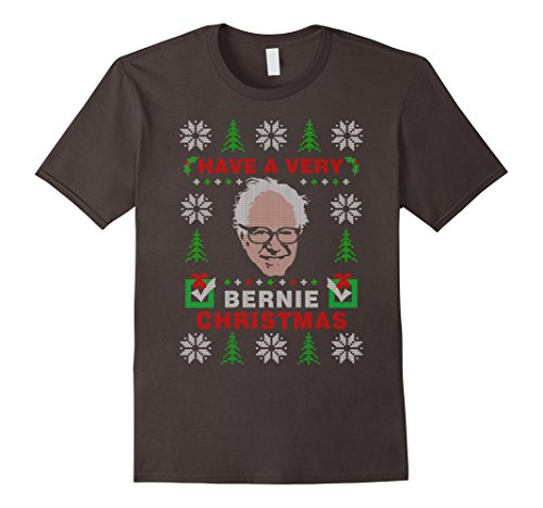 Amazon.com: Very Bernie Sanders Ugly Christmas Sweater T-shirt ...