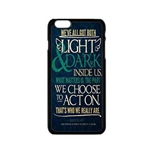 Custom Harry Potter Quotes Durable Plastic Snap On Cover Case for iPhone 6