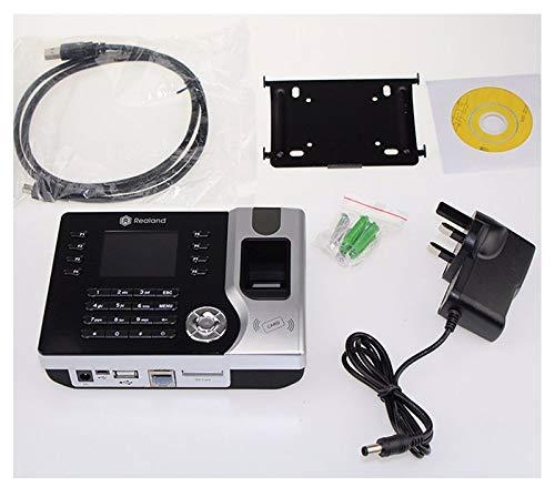 HFeng HFeng TCP//IP//USB biom/étrique dempreintes digitales Horloge enregistreur fr/équentation employ/é /électronique Lecteur de poin/çon Machine Realand A-C071 2.8inch