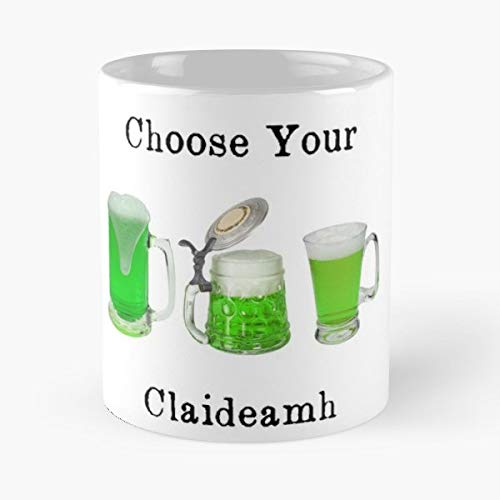 - Choose Your Claideamh Weapon Gaelic Irish - 11 Oz Coffee Mugs Unique Ceramic Novelty Cup, The Best Gift For Holidays.