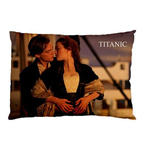 Custom New Jack and Rose Titanic Movie Pillow Case Cover Bedding Pillowcases 20''x30'' Two Sides Pillow Case Cushion Case Cover