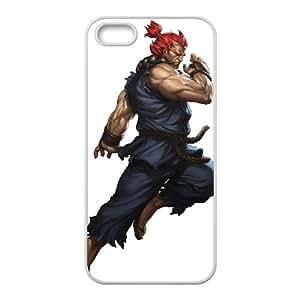 Akuma Street Fighter Iii 3Rd Strike Game Iphone 5 5S Cell Phone Case White DAVID-306961
