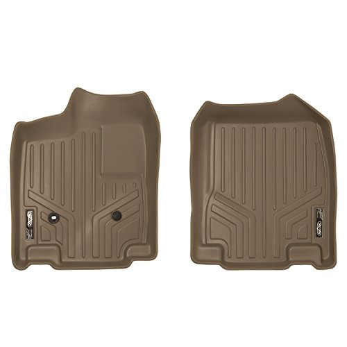 SMARTLINER Floor Mats 1st Row Liner Set Tan for 2007-2010 Ford Edge/Lincoln MKX 2007 Tan 1st Row