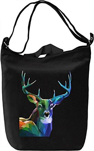 Colourful Deer Borsa Giornaliera Canvas Canvas Day Bag| 100% Premium Cotton Canvas| DTG Printing|